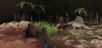 Maquette Dimetrodon